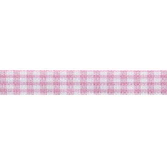 Rose Check Ribbon 5mm