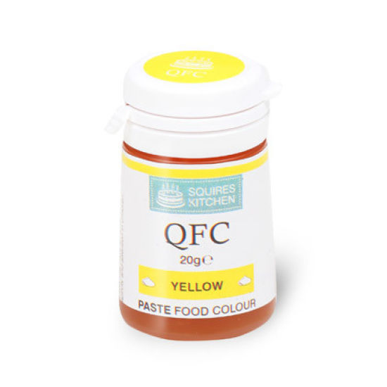 SK QFC Quality Food Colour Paste Yellow 20g
