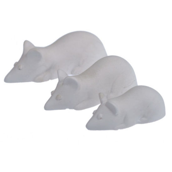SK-GI Silicone Mould Mice Family of 3