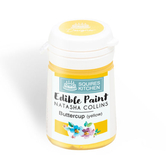 SK Edible Paint by Natasha Collins Buttercup (Yellow)