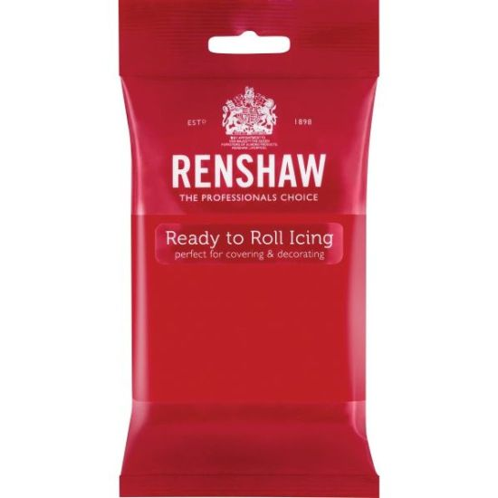 Renshaw Ready to Roll Icing Poppy Red 1kg