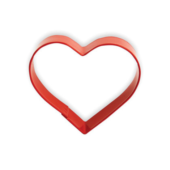 Eddingtons Ltd Cookie Cutter Heart Red