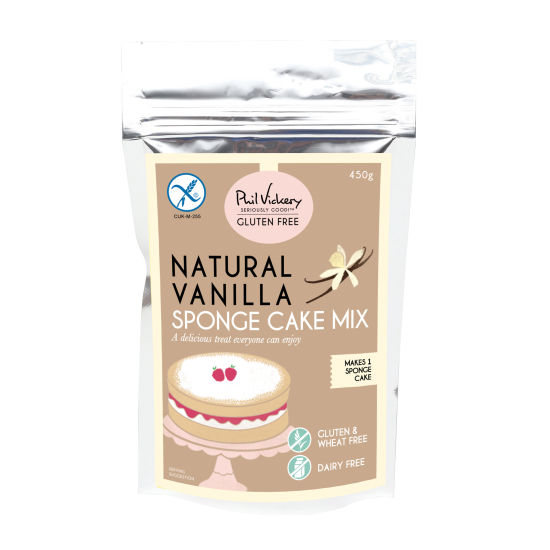 PV Seriously Good!™ Gluten-Free Natural Vanilla Sponge Cake Mix