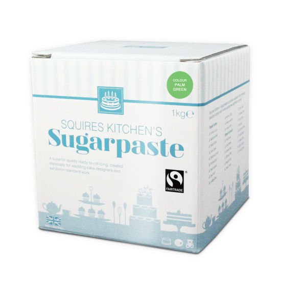 SK Fairtrade Sugarpaste Palm Green 1kg