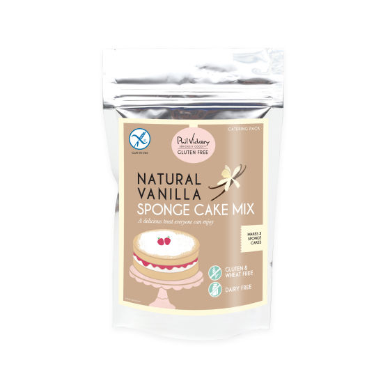 PV Seriously Good!™ Gluten-Free Natural Vanilla Sponge Cake Mix - Catering pack