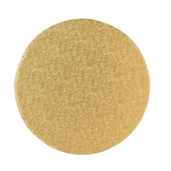 Gold Drum 1/2 Inch Thick Round 10 Inch