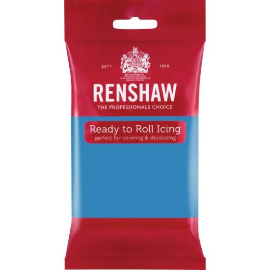Renshaw Ready to Roll Icing Turquoise Blue 250g