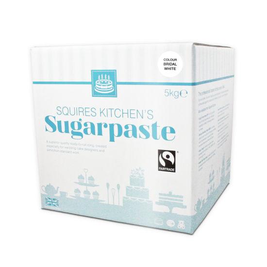 SK Fairtrade Sugarpaste Bridal White 5kg
