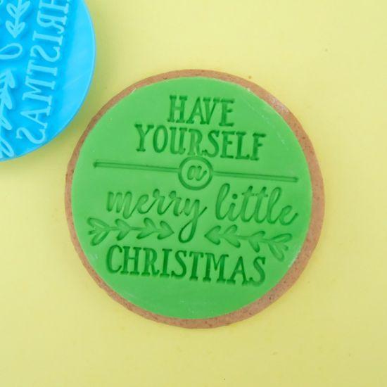 Sweet Stamp Merry Little Christmas Cupcake Embosser