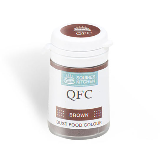 SK QFC Quality Food Colour Dust Brown 4g