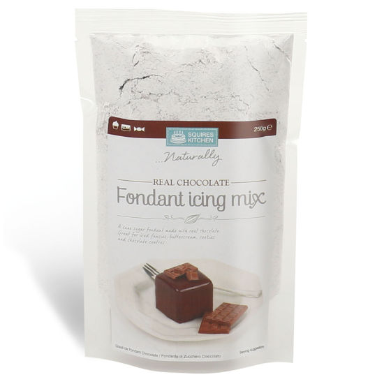 SK Fondant Icing Mix Real Chocolate 250g