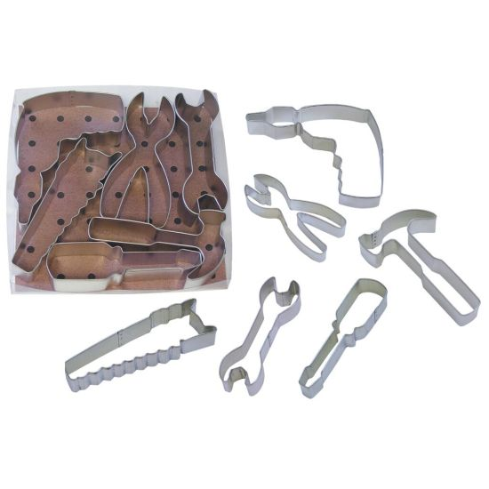 Tools Cookie Cutter Set of 6