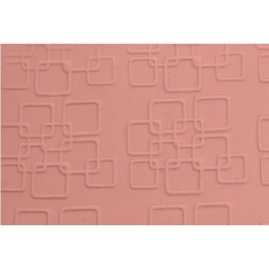 FMM Retro Squares Embossed Rolling Pin