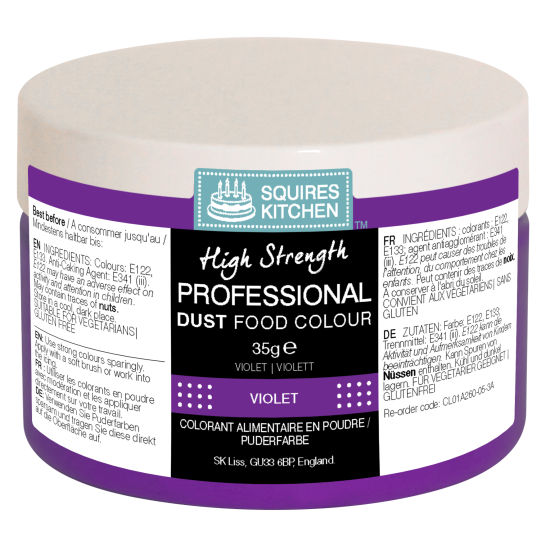 SK Professional Food Colour Dust Lilac 35g