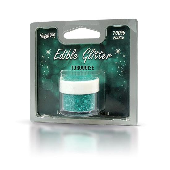Rainbow Dust Edible Glitter 5g - Turquoise