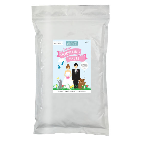 SK Fairtrade Sugar Modelling Paste Snow White 1kg