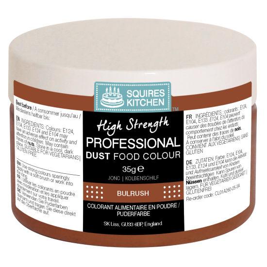 SK Professional Food Colour Dust Bulrush (Dark Brown) 35g