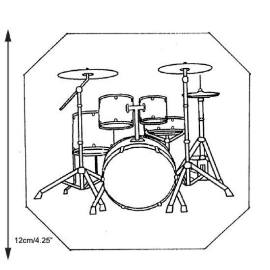 Patchwork Cutter & Embosser Drum Kit