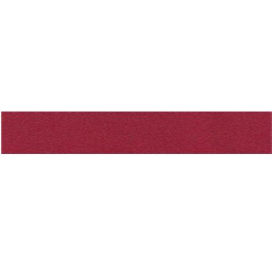 Burgundy Double Faced Satin Ribbon - 25mm
