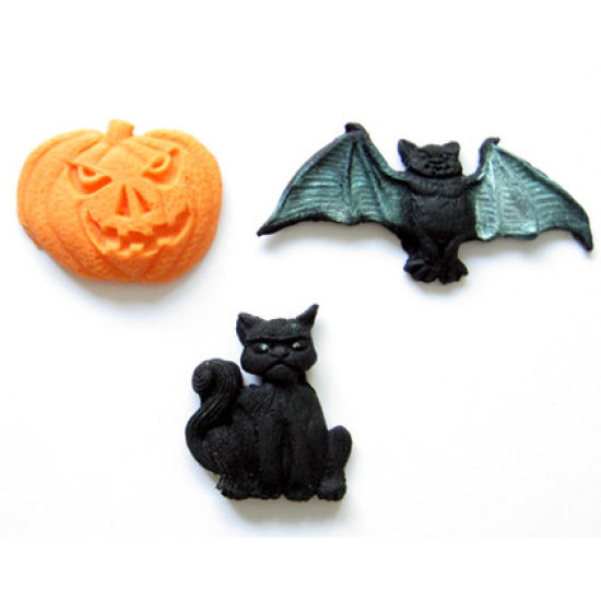 SK-GI Silicone Mould Halloween Collection