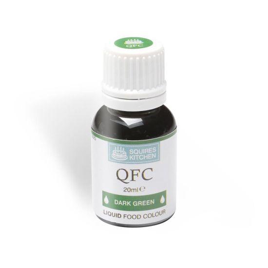 SK QFC Quality Food Colour Liquid Dark Green 20ml