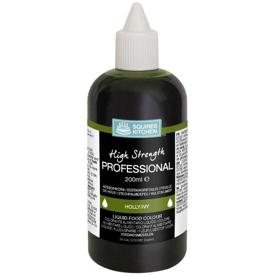 SK Professional Food Colour Liquid Holly/Ivy (Dark Green)