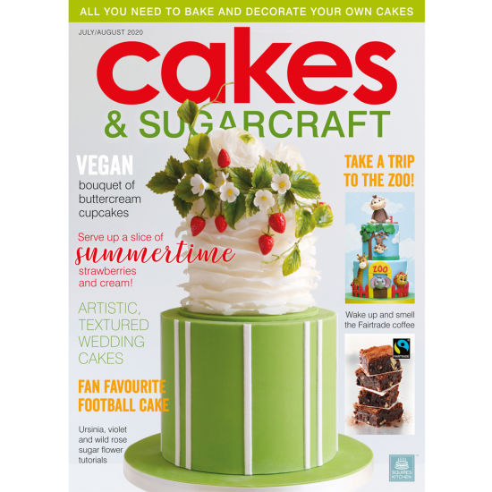 Cakes & Sugarcraft Magazine July/August 2020