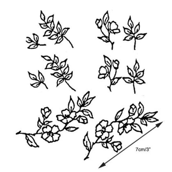 Patchwork Cutter & Embosser Blossom & Leaves