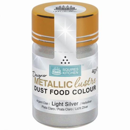 SK Designer Metallic Lustre Dust Light Silver 4g