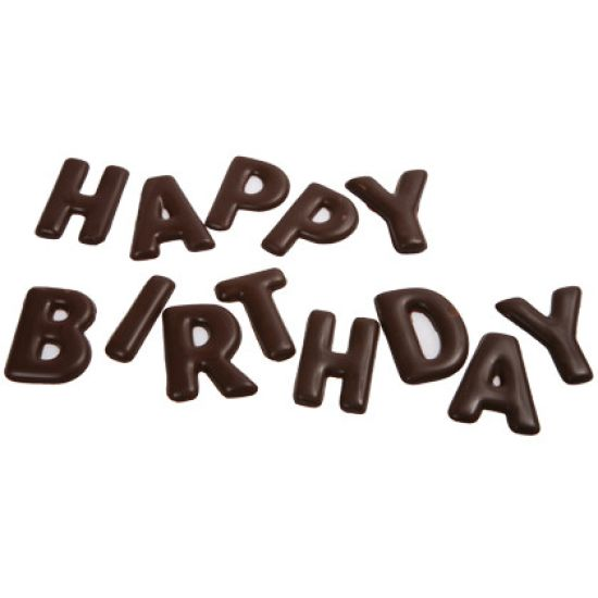 Home Chocolate Factory Chocolate Mould Happy Birthday