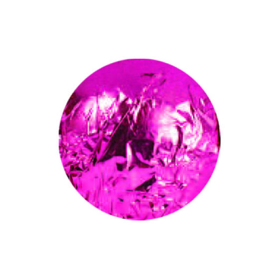 Hot Pink Foil Wraps 8x8cm