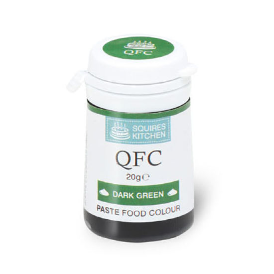 SK QFC Quality Food Colour Paste Dark Green 20g