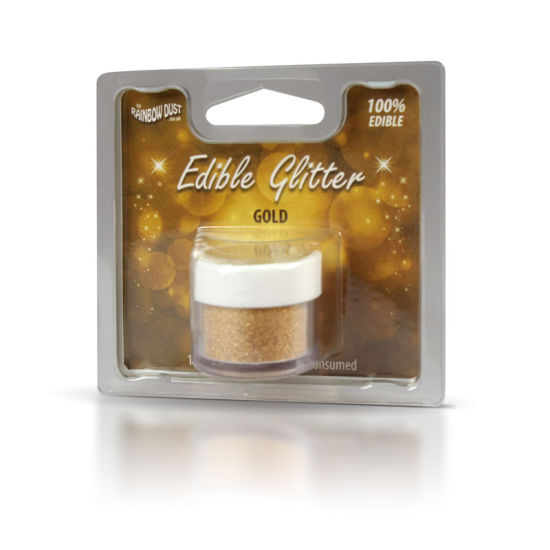 Rainbow Dust Edible Glitter 5g - Gold