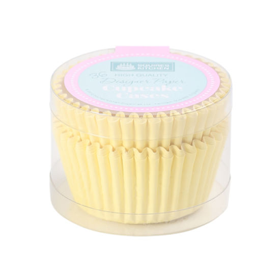 SK Cupcake Cases Colour Block Double Cream Pack of 36