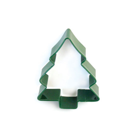 Green Christmas Tree Cookie Cutter 9cm