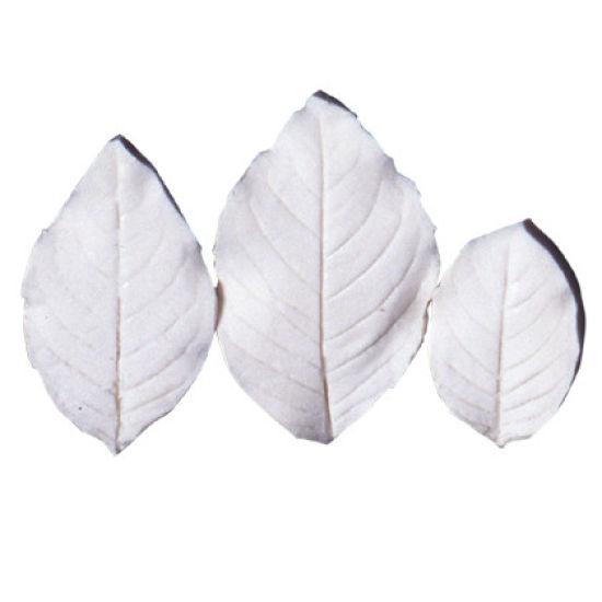 SK-GI Leaf Veiner Fuchsia Set of 3 Leaves 5.5/5.0/3.5cm