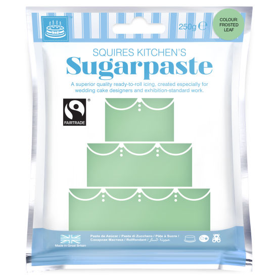 SK Fairtrade Sugarpaste Frosted Leaf 250g