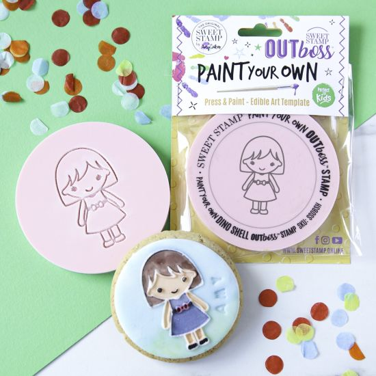 Sweet Stamp OUTboss Paint Your Own - Girl