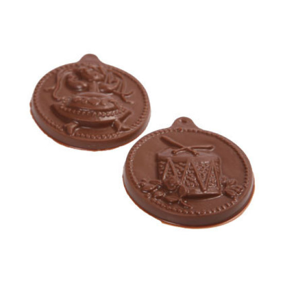 12 Days of Christmas Chocolate Mould - Days 7-12