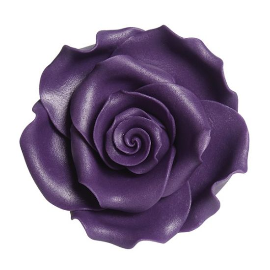 Sugar Soft Roses Purple 63mm