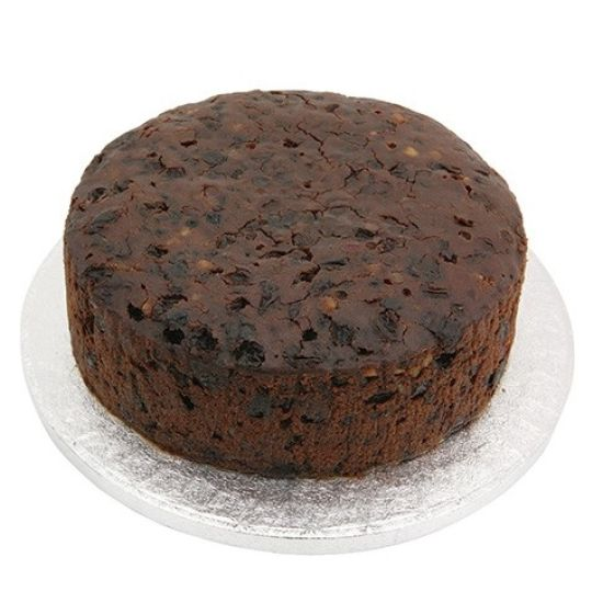 Round Rich Fruit Cake 8 Inch