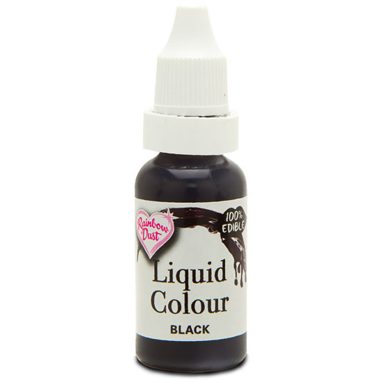 Rainbow Dust Liquid Colour - Black 19g