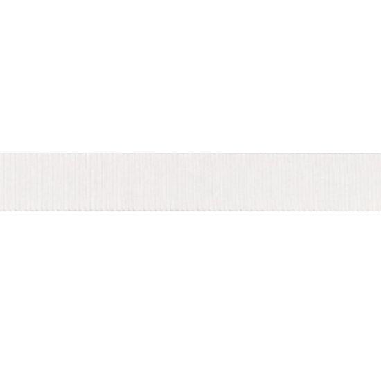 White Grosgrain Ribbon 16mm