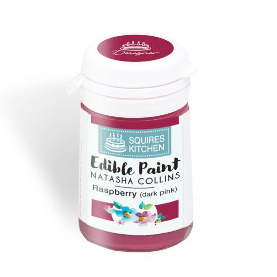SK Edible Paint by Natasha Collins Raspberry (Dark Pink)