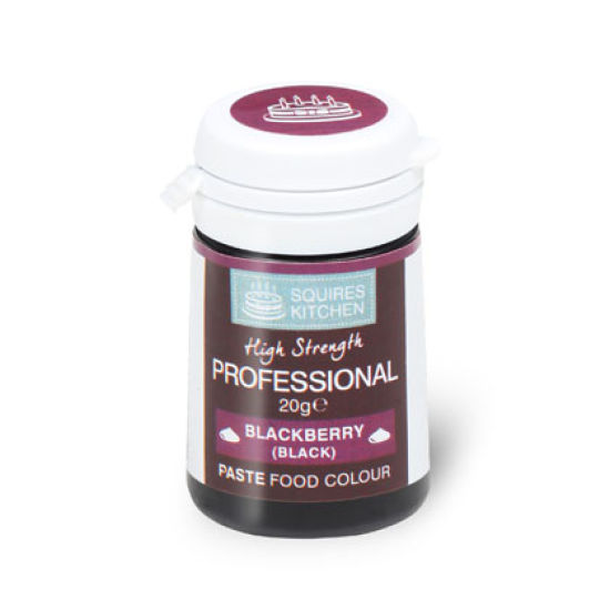 SK Professional Food Colour Paste Blackberry (Black) 20g