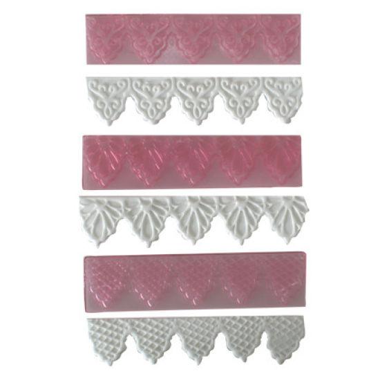 FMM Cutter Textured Lace Set 1