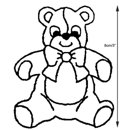 Patchwork Cutter & Embosser Teddy