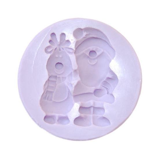 Karen Davies Santa and Rudolph Mould