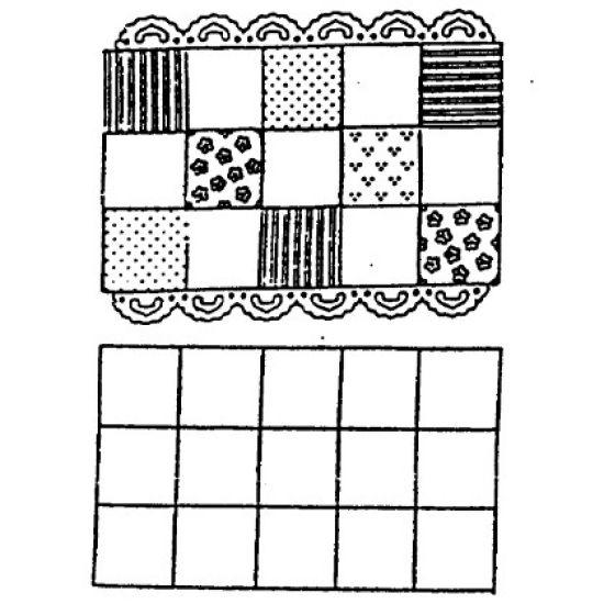 Patchwork Cutter & Embosser Squares