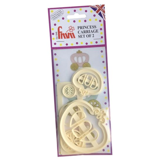 FMM Cutters Princess Carriage Set of 2